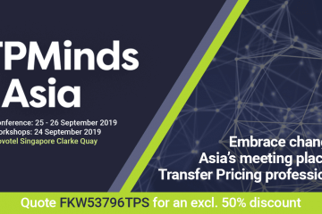 TPMinds Asia, Singapore, 24-26 September 2019