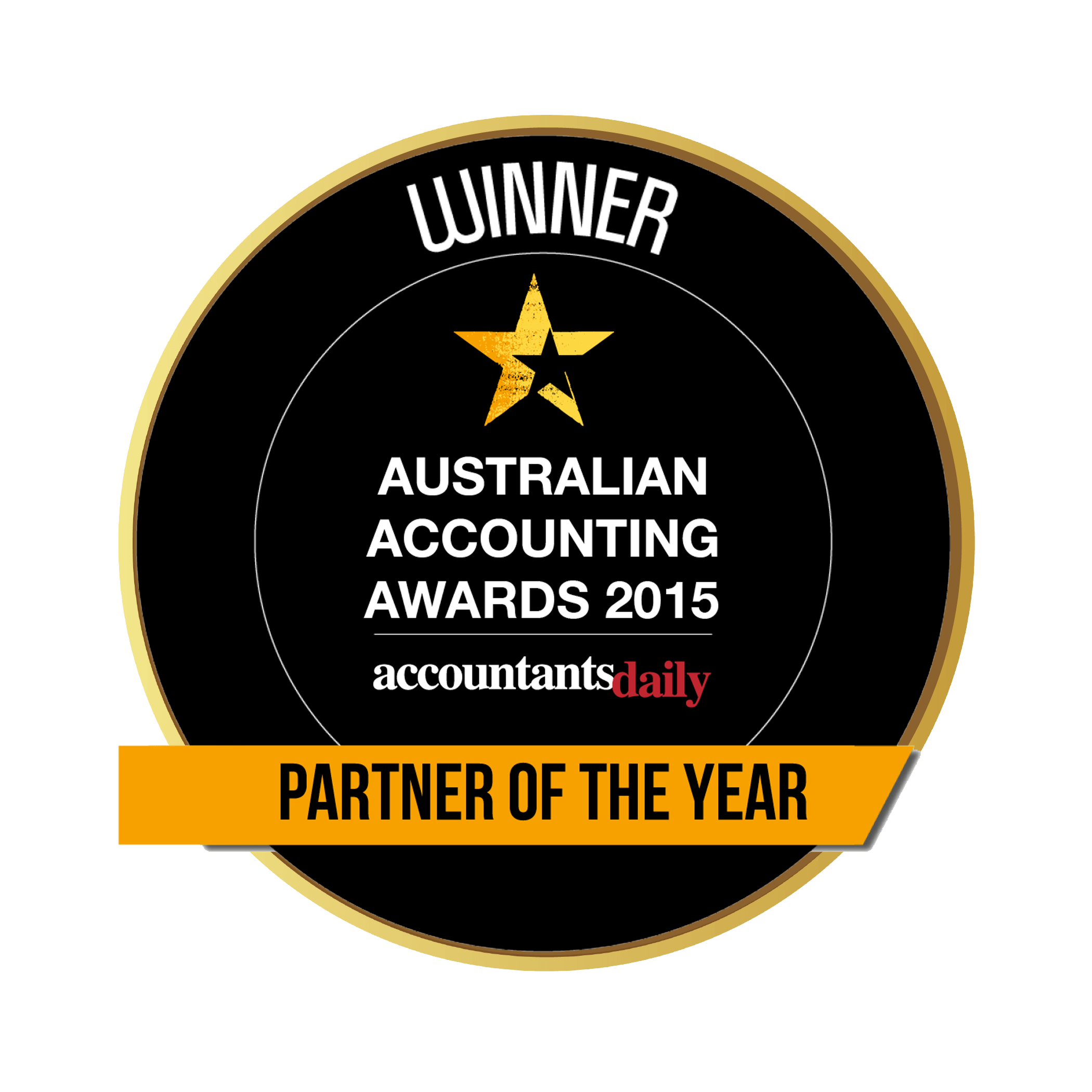 Aust Accounting Awards 2015_PARTNER OF THE YEAR