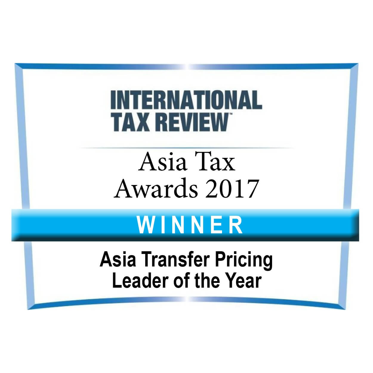 Asia TP Leader of the Year/Shannon Smit Asia Tax Awards Winner 2017